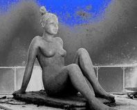 nu couché sculpture argile nouveausculpteur 2013