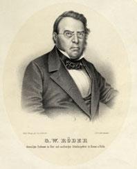 Der Deutsche G. W. Röder (1795-1872) war Mitbegründer der Historischen Gesellschaft von Graubünden.