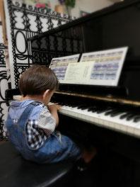 3才ピアノ マンツーマンピアノリトミック どれみ音楽教室