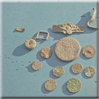 Preise, Honorar; Geldscheine, Münzen