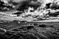 Barque en attente du pecheur