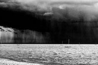 Averse sur le bassin d'arcachon