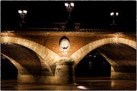 Pilier du pont de pierre
