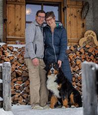 Die Pächter Sylvia und Gotthard Stern