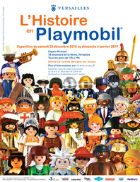 L'Histoire en Playmobil - Versailles.