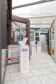 Verschiedene Fenster der Nötzel GmbH