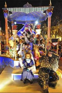Fiestas en Zaragoza Cabalgata de Reyes