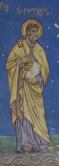 Petrus met Hemelrijk-Sleutel