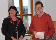 Lisa und Stefan Deutsch berichteten über ihre Arbeit für Flüchtlinge.