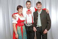 Claudia, Matthias und Stefan