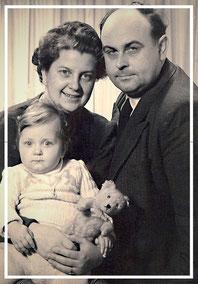 © Dr. Ursula Fellberg, Familienfoto 1951