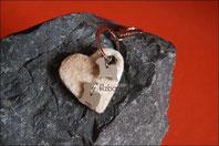 Schlüsselanhänger Golden Retriever Hundefell