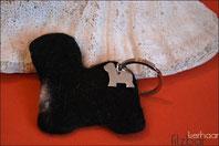 Schlüsselanhänger, Tibt Terrier Schmuck