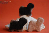 Tibet Terrier Filz Objekte
