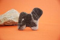 Schmuck aus Hundefell Tibet Terrier Filz