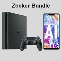 Sony Playstation mit Smartphone und Handytarif