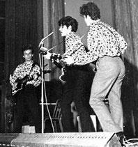 Le groupe rock Les Vautours
