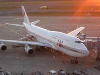 B747(2003年12月、羽田空港)