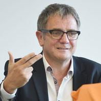 Roland Eitel ist Medienberater von Jürgen Klinsmann und Jogo Löw. Entsprechend unterrichtet er das Modul Sport und Medien im Masterstudiengang internationales Sportmarketing.