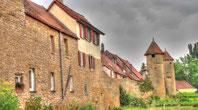 Die Stadtmauer in Mainbernheim (Text/Fotos: Thomas Staab/LBV)