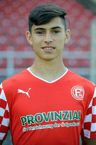 Gino Pöschl wechselt von Fortuna Düsseldorf zum Blankenfeld. Foto: Fortuna Düsseldorf.