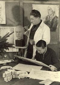Magda und Georg Heller anf. 30er Jahre