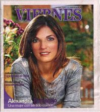 VIERNES Magazine Cover.