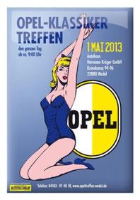 Opel-Klassiker Treffen 01. Mai 2013 Wedel