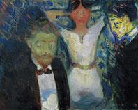 Edward Munch, Eifersucht 1907