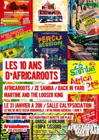 Les 10 ans d'Africaroots