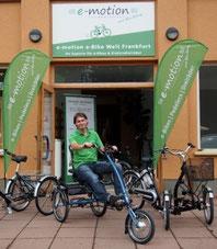 Dreirad-Zentrum Frankfurt ist exklusiver Partner von Van Raam