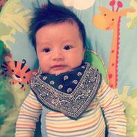 Pippi bavoir foulard bandana bavouilleur bave