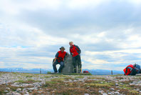 Am höchsten Punkt am Cairn Dhaim