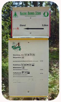 Wanderwege in Braunlage
