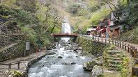 la cascade de minoh park a osaka en visite guidee avec un accompagnateur prive francophone au japon