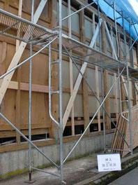 長年住み慣れた家を耐震改修工事