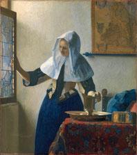 Junge Frau mit Wasserkanne Vermeer