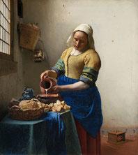 Dienstmagd mit Milchkrug Vermeer