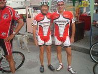 Mit Hugo,ehemaligem Profi aus der Schweiz