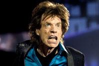 Mick Jagger, Mars carré à Pluton