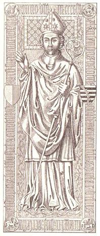 Grabplatte von Magnus von Sachsen-Lauenburg