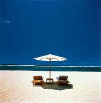 プライベートビーチカフェの様な雰囲気