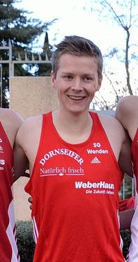 Sieger über 10 km: Marco Giese