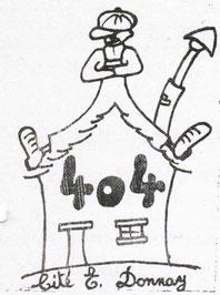 Le 1er logo du 404