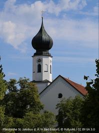 Bad Endorf, Pfarrkirche St. Jakobus d.Ä.; © Rufus 46/CC BY-SA 3.0