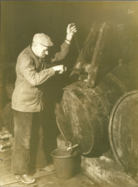 Vital, grandfather of the current owner Benoit Louvet