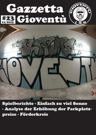 Titelbild der Gazzetta Gioventù #23