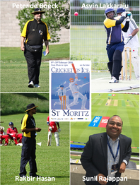 Cricket On Ice officials 2018