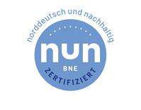 """Logo """"Norddeutsch und Nachhaltig"""" (NUN)"""