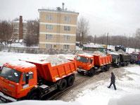 вывоз и уборка снега в питере